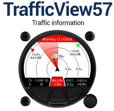 TrafficView57 (57mm Rundausschnitt)