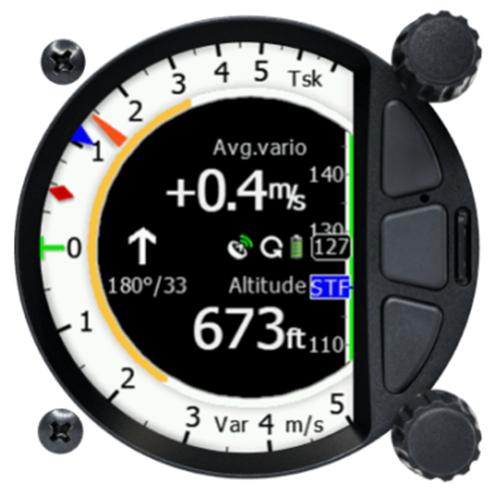 S100 standalone Digital Variometer 80 mm mit IGC Logger