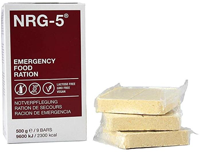 Emergency Food NRG-5 Notration