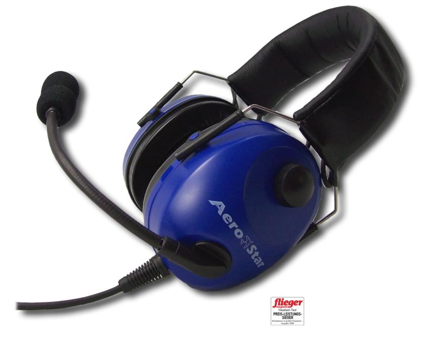 Headset AeroStar comfort blau- aktuelle Lieferzeit ab jetzt ca. KW26!