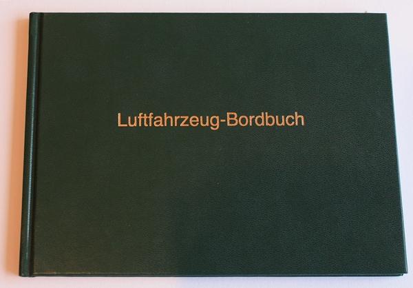 Bordbuch Segelflug Grün