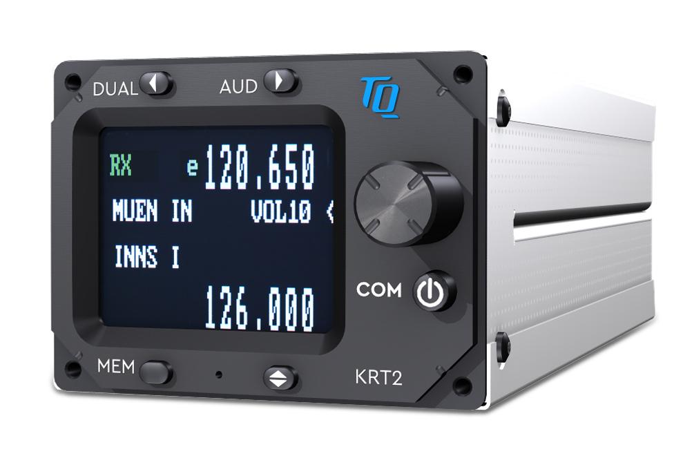 Sprechfunkgerät Dittel-Avionik KRT2 mini waagrecht