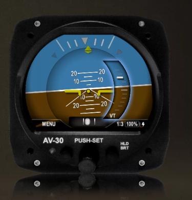 AV-30 EFIS von uAvionix