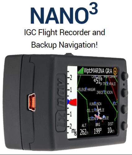 NANO3 Logger mit Navigation
