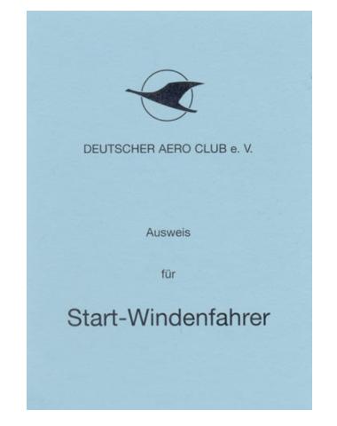 Startwindenfahrer-Ausweis