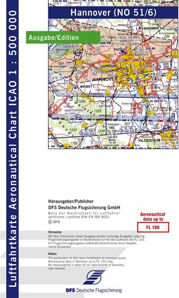 ICAO-Karte Hannover 2021