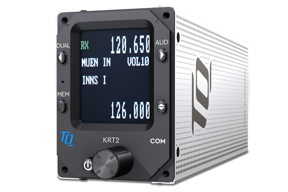 Sprechfunkgerät Dittel-Avionik KRT2 mini senkrecht