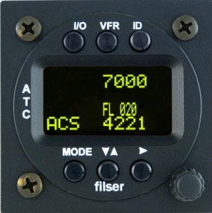 TRT 800 H - OLED Mode-S Transponder Funkwerk