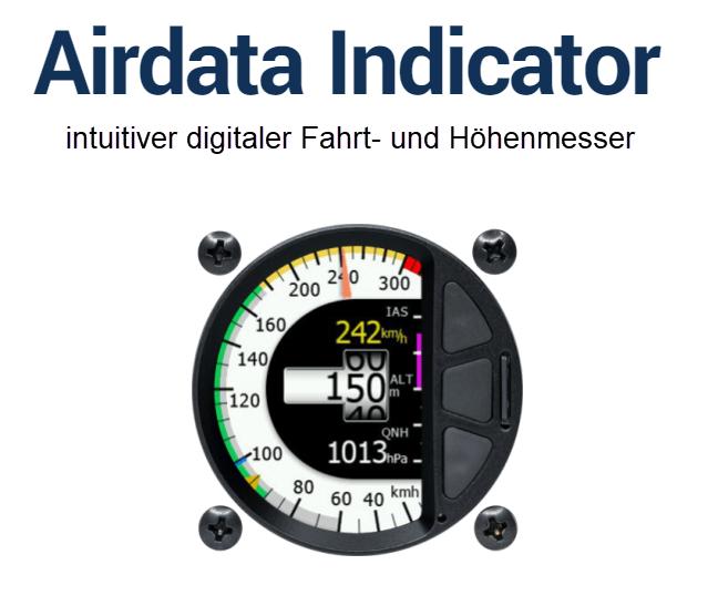 Airdata Indicator - Fahrt- und Höhenmesser