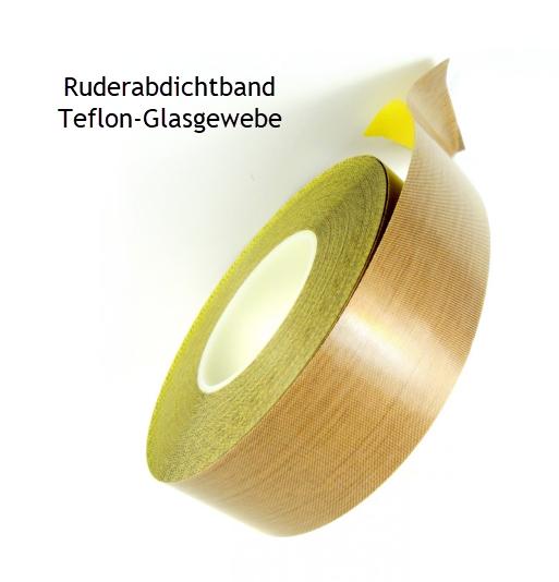 11 m 30mm Ruderabdichtband Teflon-Glas