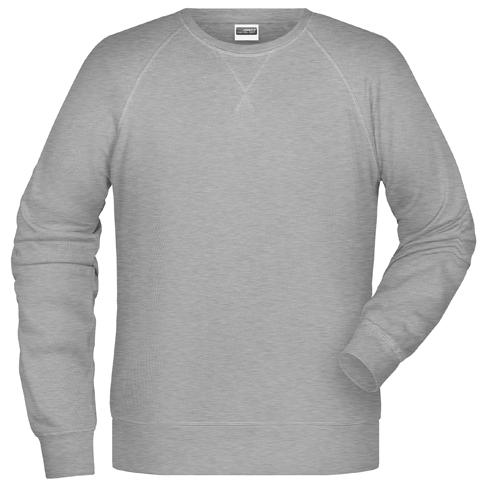 Männer Sweatshirt-Grün-M