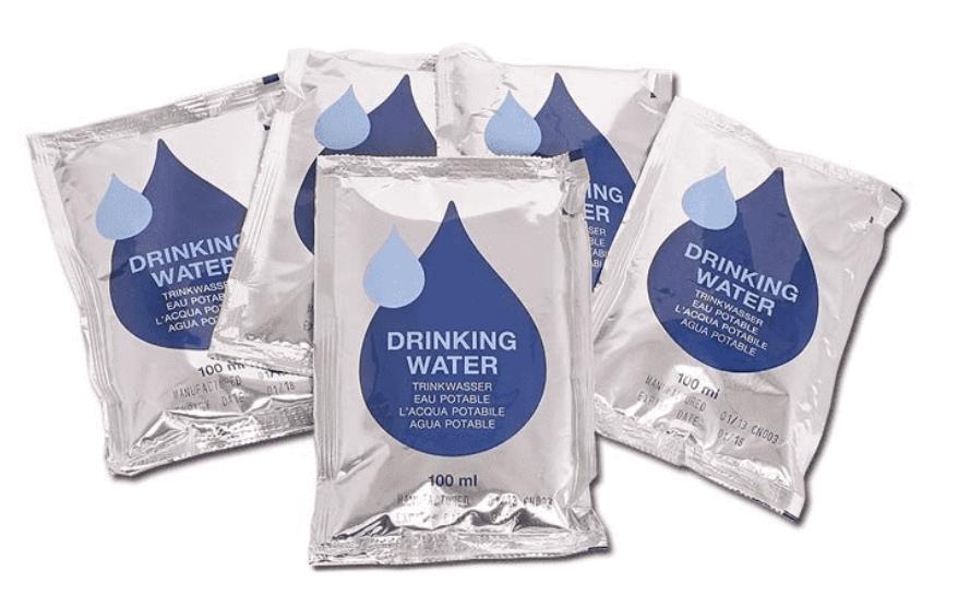 SURVIVOR MSI Trinkwasserkonserven 5 x 100ml