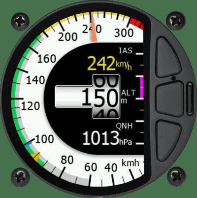 Airdata Indicator 80mm
