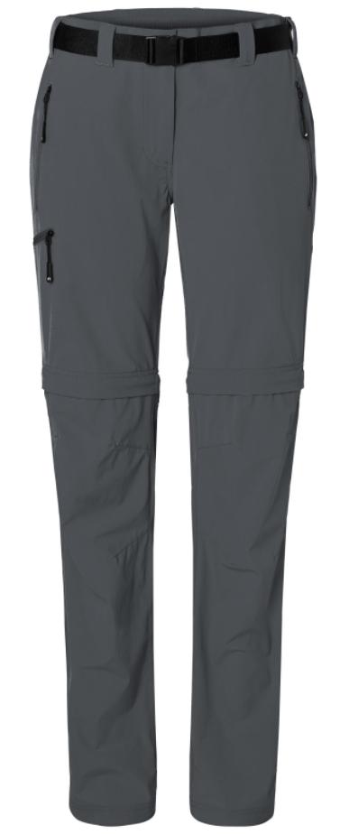 Segelfliegerhose Zip-Off mit extra langem Reißverschluss carbon