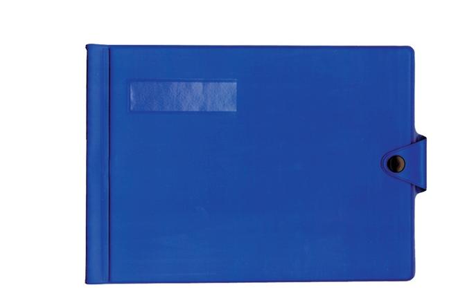Bordbuch-Schutzhülle aus Kunststoff