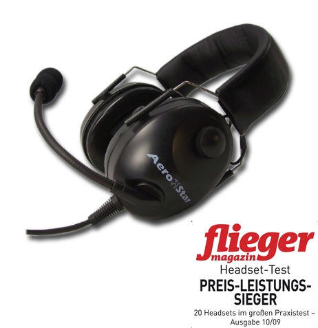 Headset AeroStar comfort schwarz aktuelle Lieferzeit ab jetzt ca KW 26!