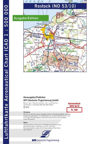 ICAO-Karte Rostock 2021