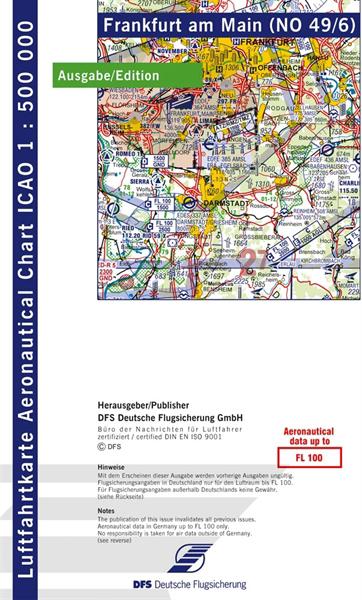 ICAO-Karte Frankfurt 2021