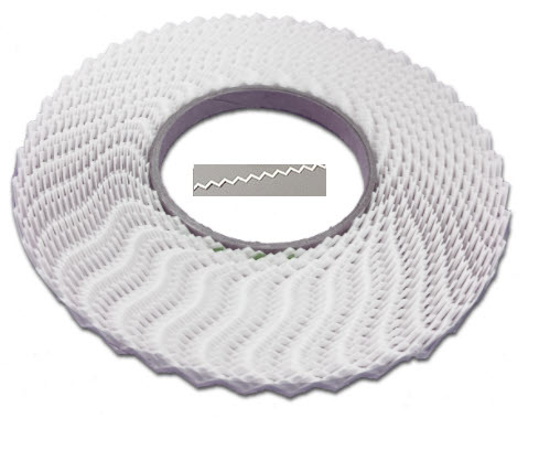 Zackenband 90° 33 m -Rolle