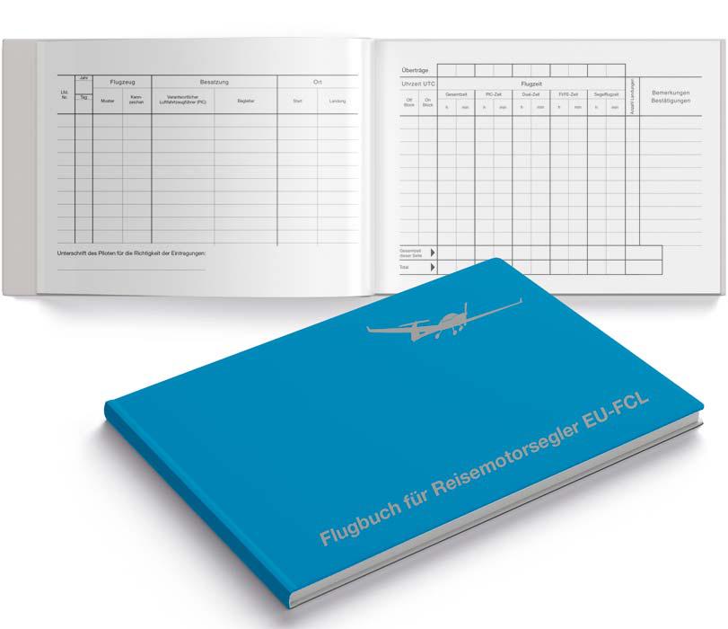 Schiffmann Flugbuch für Reisemotorsegler EU-FCL konform